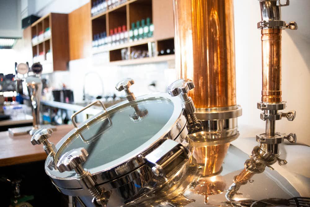 Distiller at Animus Distillery in Kyneton