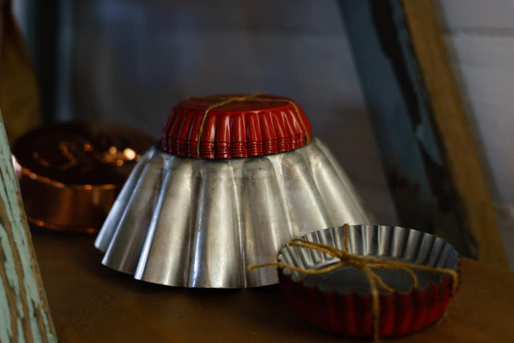 Cake moulds, Atelier Chocolat, Trentham