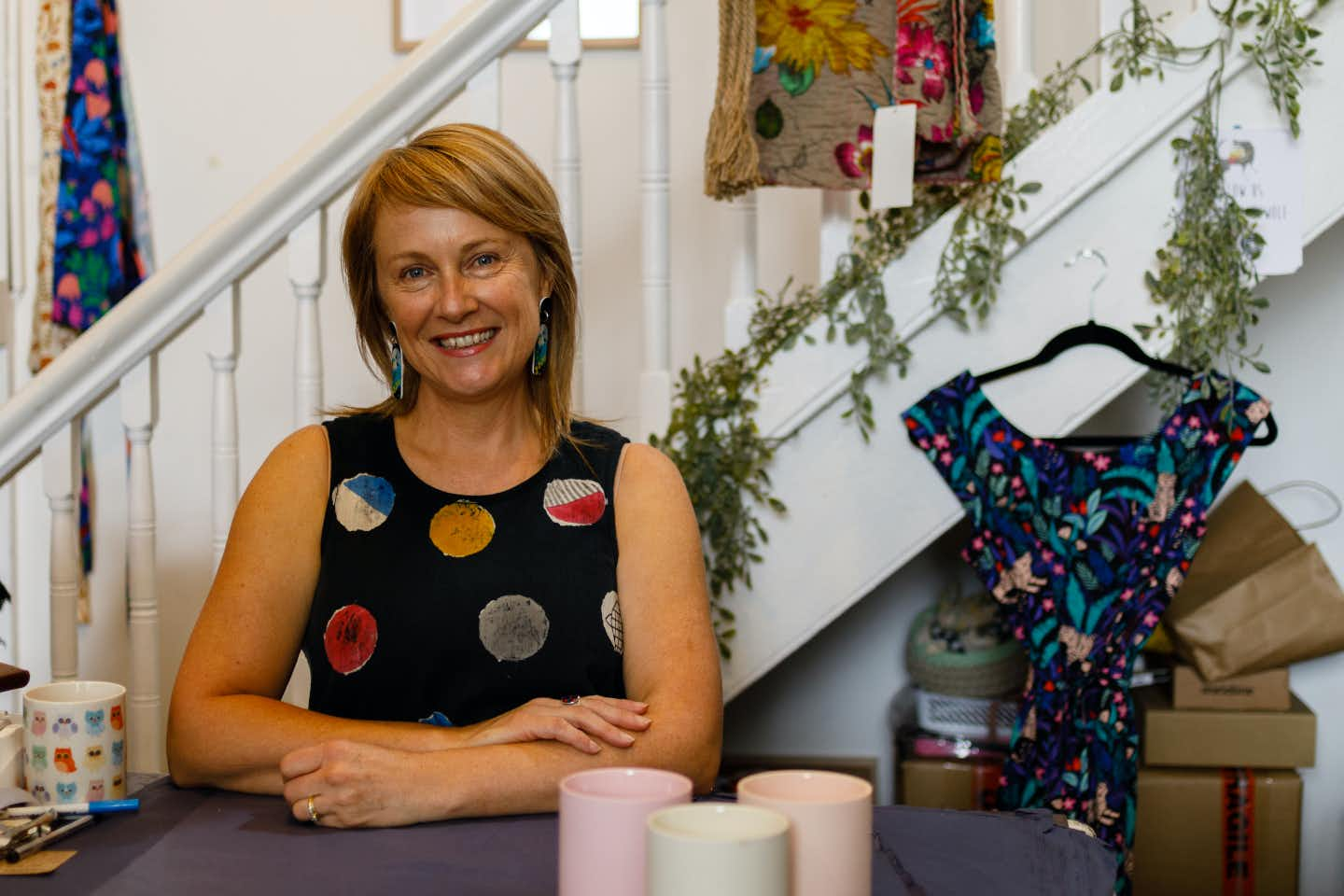 Andrea Hurley, owner of Hattie And The Wolf in Ballarat