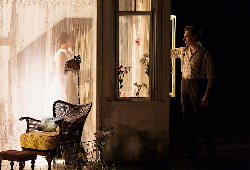 The Glass Menagerie production - image by Pia Johnson