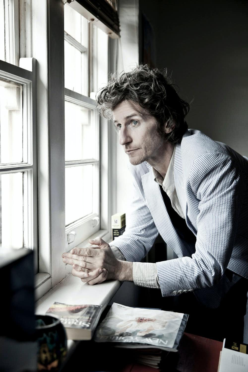 Portrait of Tim Rogers by Pia Johnson