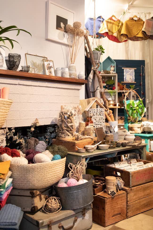 Store interior of Tribe in Castlemaine