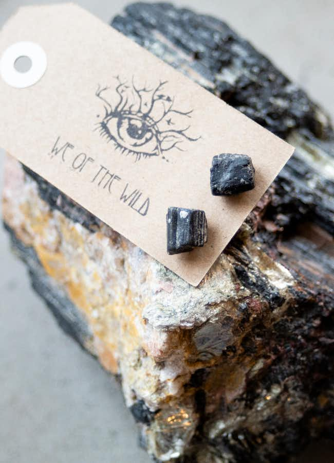 Beautiful Handmade Earrings In Stone At We Of The Wild