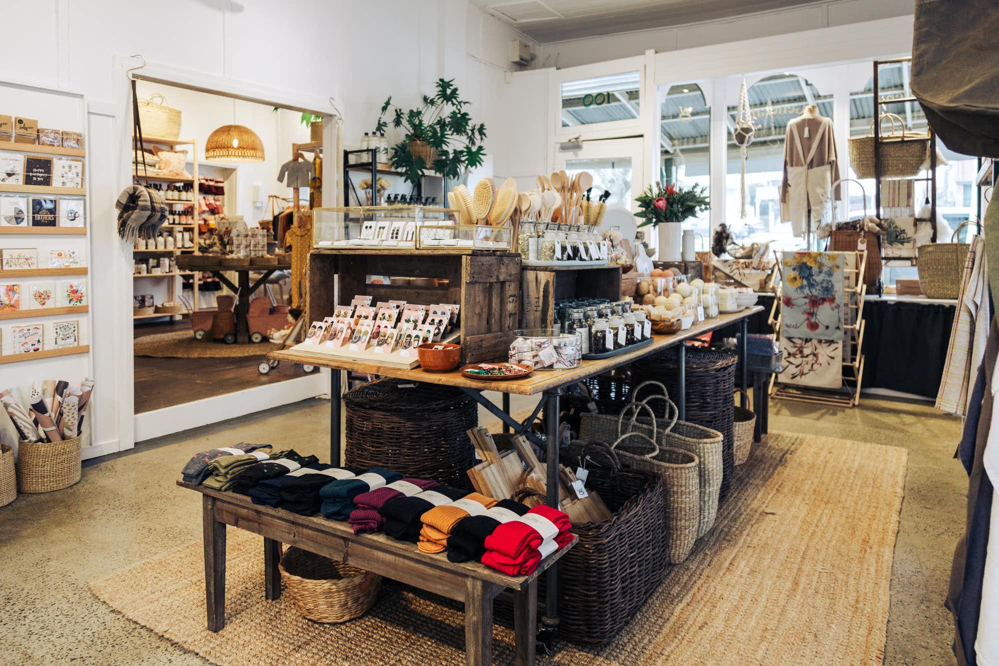 Shop interior of Woodend General | Calder Western Magazine